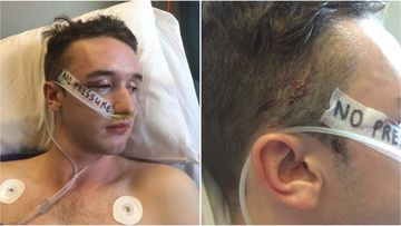 Andrew McNab was sickened and walked out of court when he heard the sentence handed to his attacker Rhyce Butcher Corney.