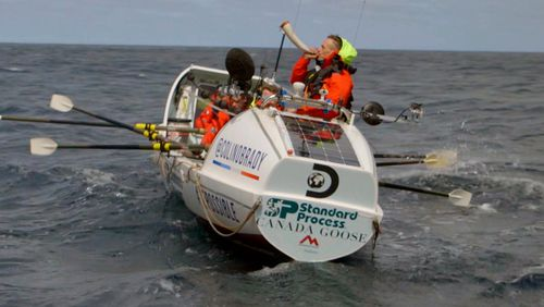 Six rowers become first to cross from South America to Antarctica