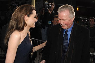 Despite their highly-publicised feud that began when dear-old dad pleaded with his daughter on-air to seek help for her 'serious mental problems', Angelina Jolie has recently reconciled with her father, renowned actor Jon Voight. We're not sure dad will receive a Father's Day gift though. Voight recently revealed Ange didn't even call to tell him about her double mastectomy!