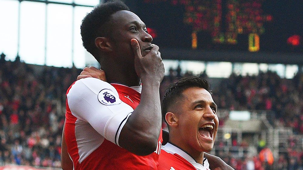Arsenal end Manchester United's unbeaten run in the English Premier League