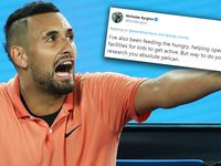 Kyrgios hopeful for Australian Open