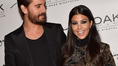 Baby daddy: Kourtney Kardashian and Scott already have three children together - what's one more?
