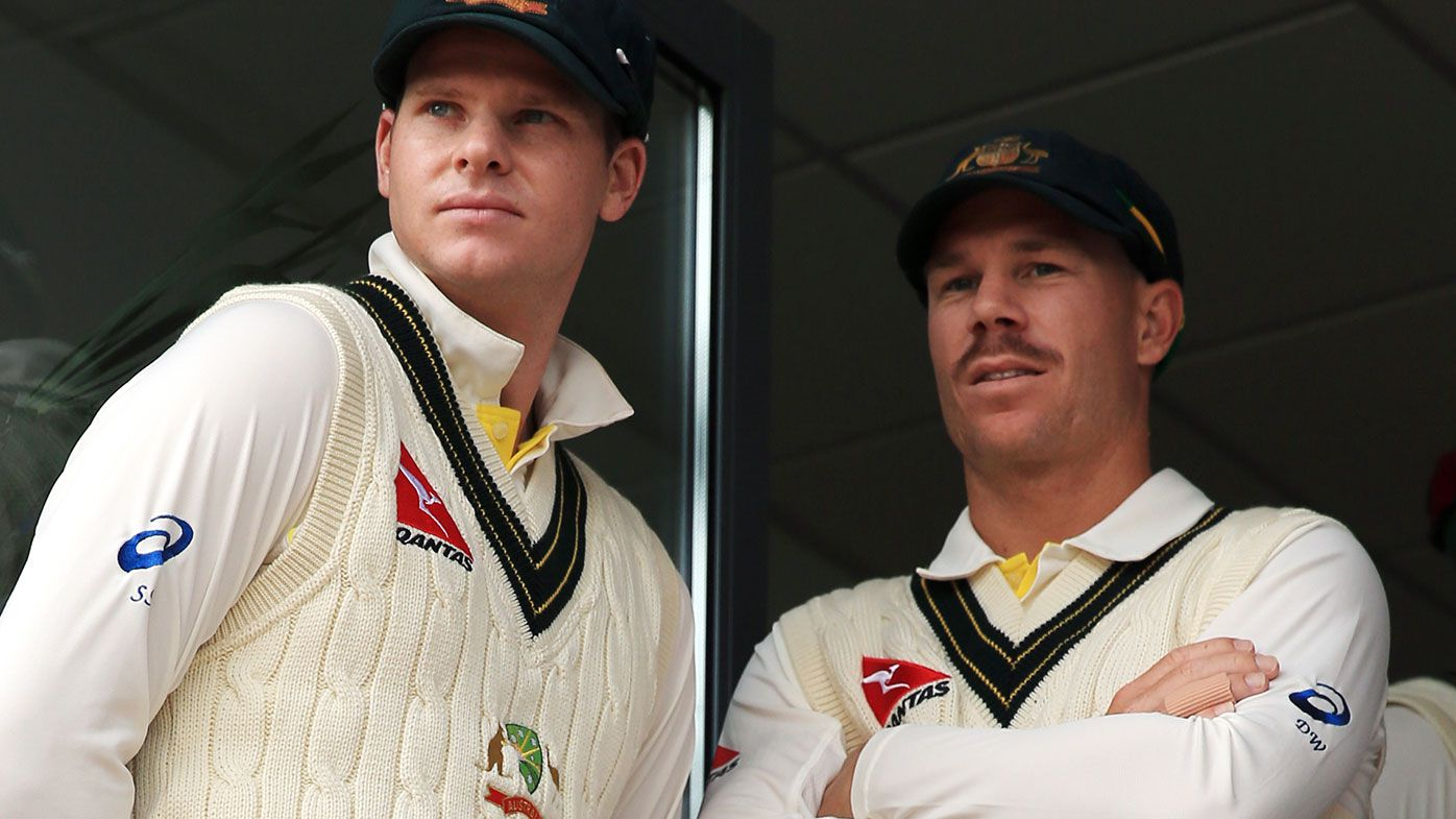 Steve Smith (left) and David Warner
