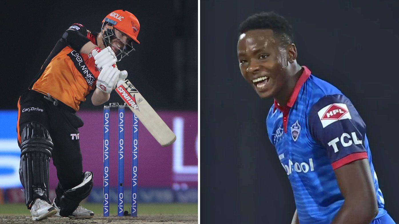 David Warner's Sunrisers Hyderabad see off Delhi Capitals in IPL