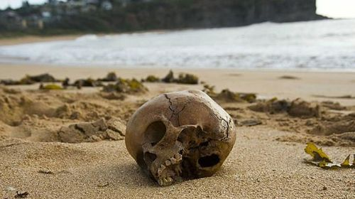 Jawbone found on Sydney beach matches 800-year-old skull