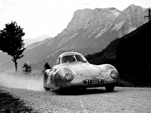 The first Type 64 was built to compete in a Berlin to Rome road race scheduled for September 1939.