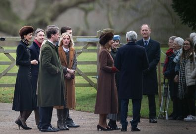 Kate Middleton Prince William church Sandringham friends and family Kate's birthday