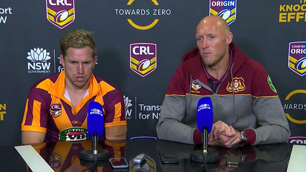 Country coach Craig Fitzgibbon blasts NRL over scheduling of axed fixture