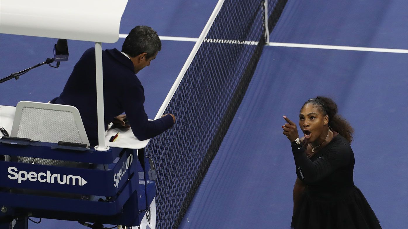 'She handled it with such grace and class': NBA star Steph Curry praises Serena Williams amid US Open meltdown