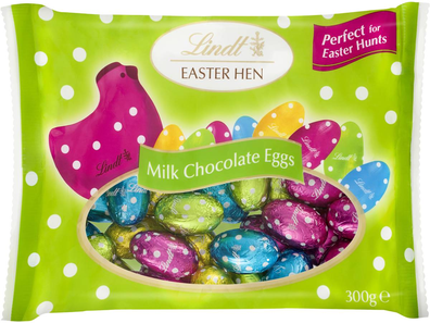 Lindt Mini Solid Milk Chocolate Easter Eggs
