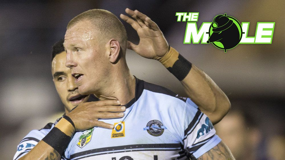The Mole: Luke Lewis may leave Cronulla Sharks as rivals NRL clubs circle