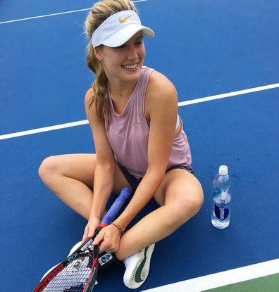 Bouchard instagram eugenie Tennis news: