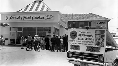 Since the opening of the chain's first store in Australia in 1968, KFC has grown to more than 640 stores nationwide. Picture: Supplied.