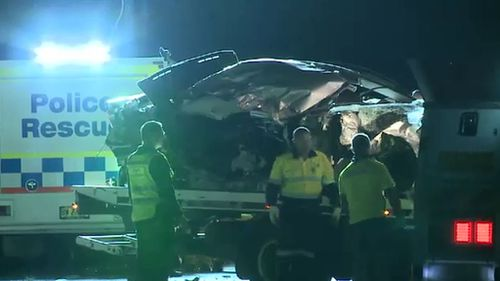 Young woman dies on impact after car and truck collide in the NSW Macarthur region