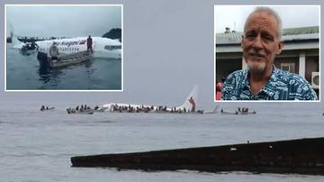 Two Australians on stricken Micronesia plane