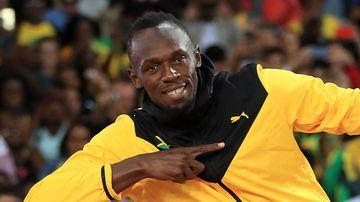 Jamaica's Usain Bolt. (AAP)
