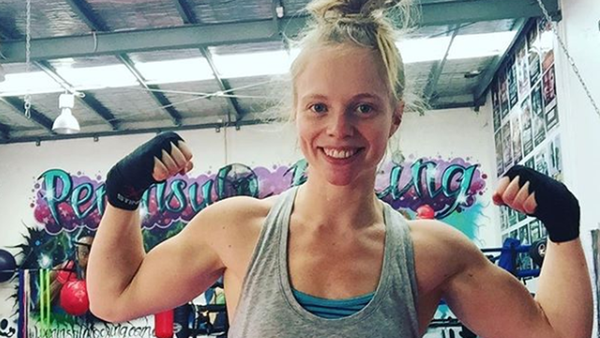 How boxing completely transformed April Franks' life