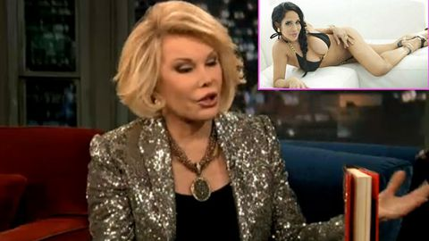 Watch: Joan Rivers compares Octomom to Disneyland's 'log ride'