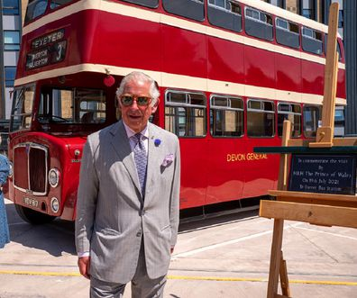 His Royal Highness heard from long service bus drivers about their work during the pandemic.