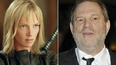 Uma Thurman channels Kill Bill to attack Harvey Weinstein