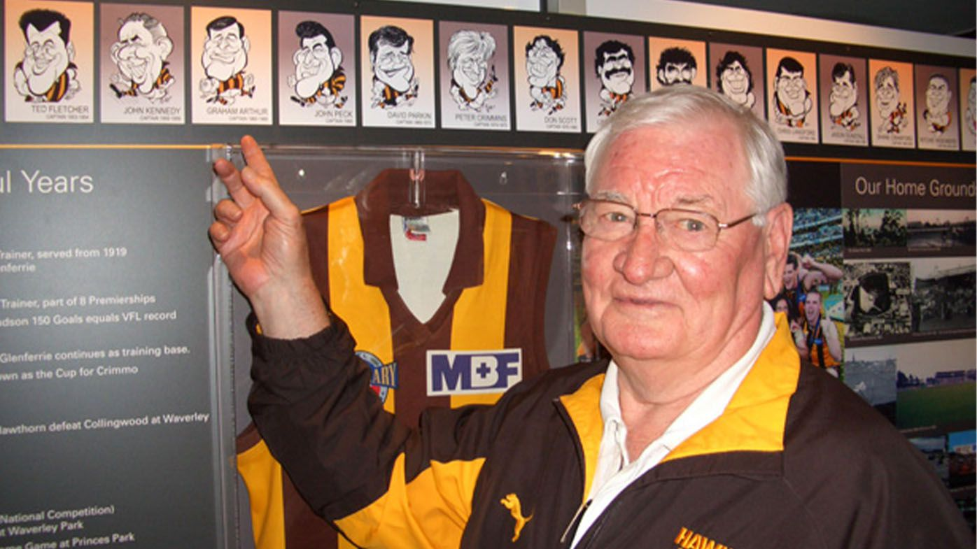 Hawthorn Football Club legend Graham Arthur passes away, aged 84