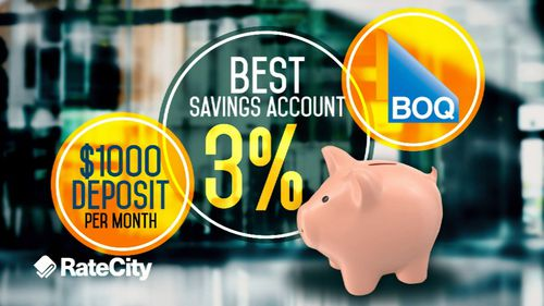The best savings account is with BOQ.