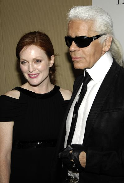 <strong>Righthand man: Karl Lagerfeld</strong>
