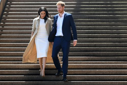 Sydney dazzled with a rainy forecast making way for sunny blue skies for the royal couples first official day on tour.