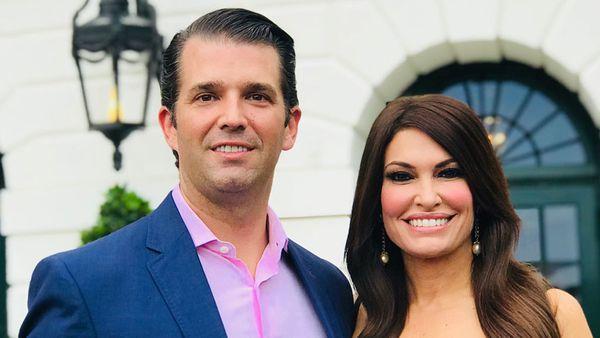 Donald Trump Jr and Kimberly Guilfoyle