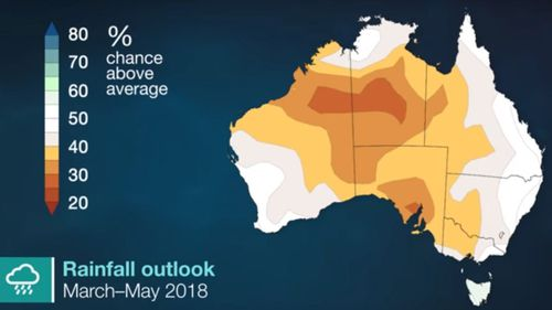 Drier-than-average conditions are expected this autumn. (Bureau of Meteorology)