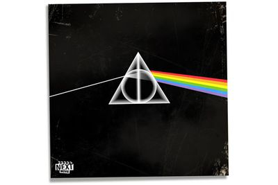 Holy Hogwarts! Some of rock's most iconic album covers have been given a magical makeover.