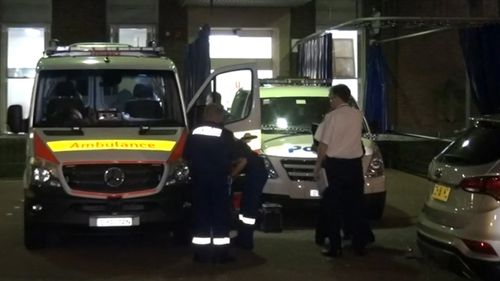 The man was rushed into surgery in a serious but stable condition.