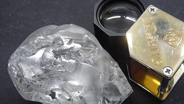 A minor in Africa has unearthed the world's largest diamond this year, reportedly worth up to $25,098,822.