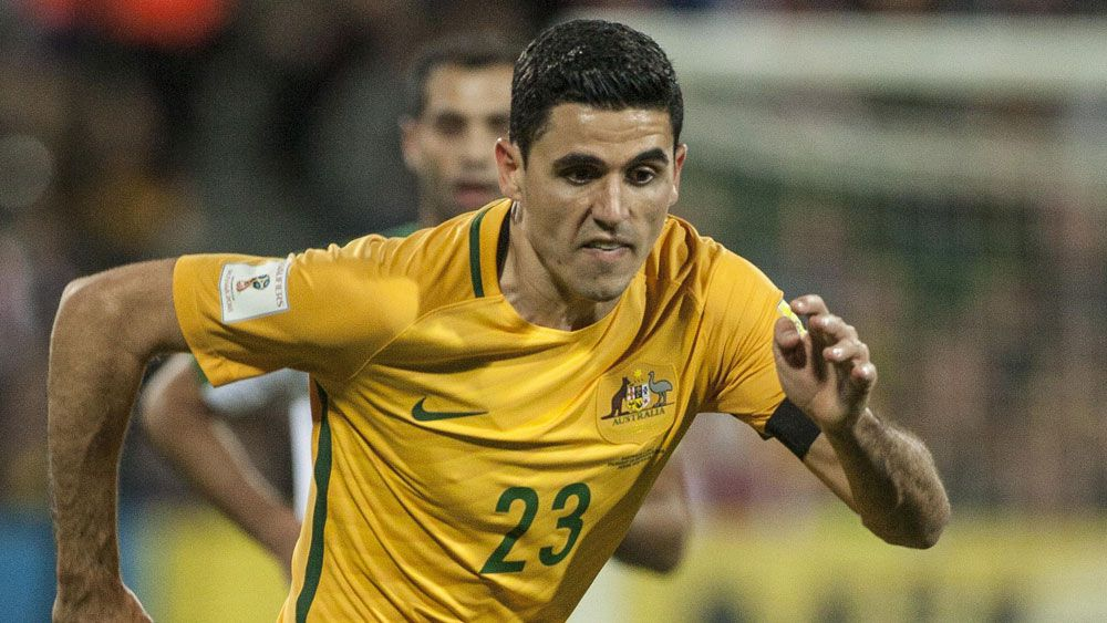 Tom Rogic was one of the Socceroos' stars against Iraq. (AAP)