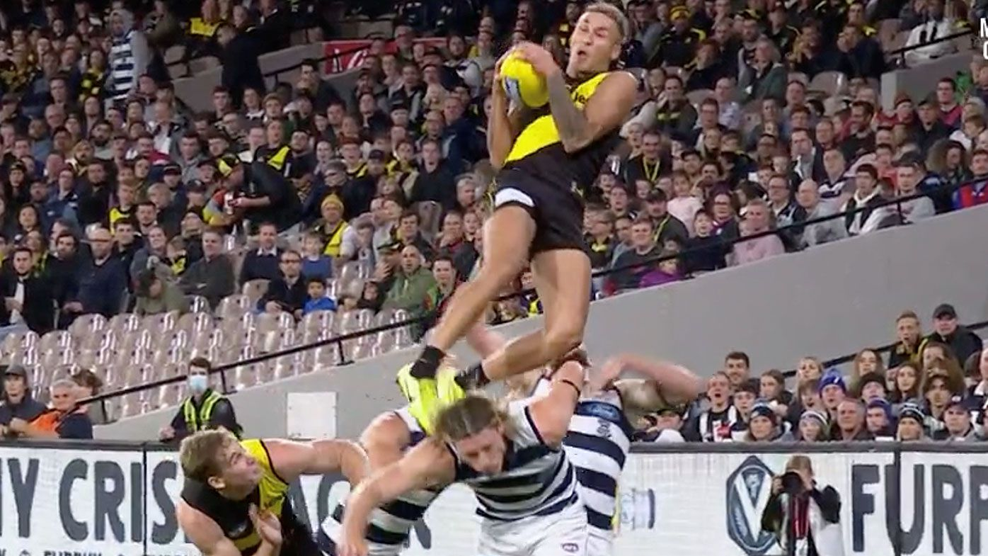 'That was special': Richmond young star Shai Bolton's mark of the year contender