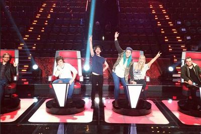 @wearesheppard: Tune into @thevoiceau grand finale tonight!! #thevoiceau #sheppard #geronimo #thevoice<br/>