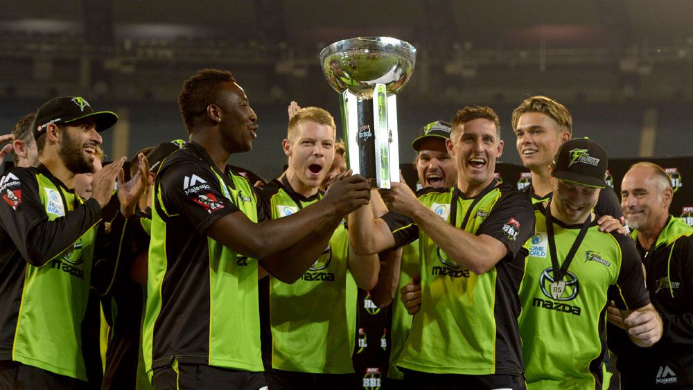 Booming Thunder capture Big Bash title