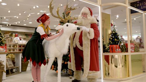 The festive displays have been met with mixed responses by the public on social media. (AAP)