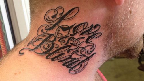 Father outraged over pub eviction for neck tattoo