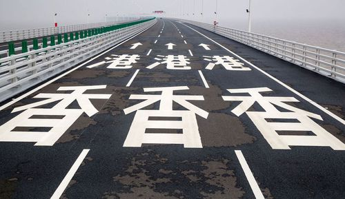 Residents in Hong Kong have complained the world's longest sea bridge is bringing in too many tourists.