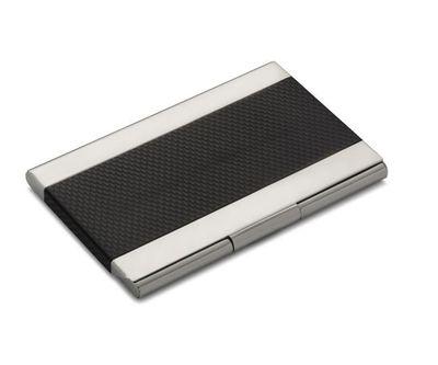 """<a href=""""http://shop.davidjones.com.au/djs/en/davidjones/alta-linea-stainless-steel-business-card-holder"""" target=""""_blank"""">Alta Linea Stainless Steel Business Card Holder, $49.95.</a>"""