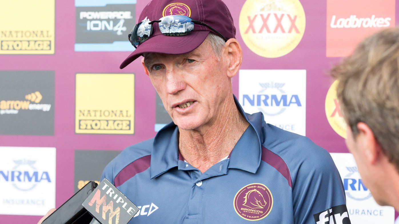 Brisbane Broncos coach Wayne Bennett gave club blessing to open contract talks with Melbourne Storm's Craig Bellamy