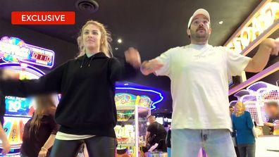 Exclusive: Brett and Booka do a dance-off