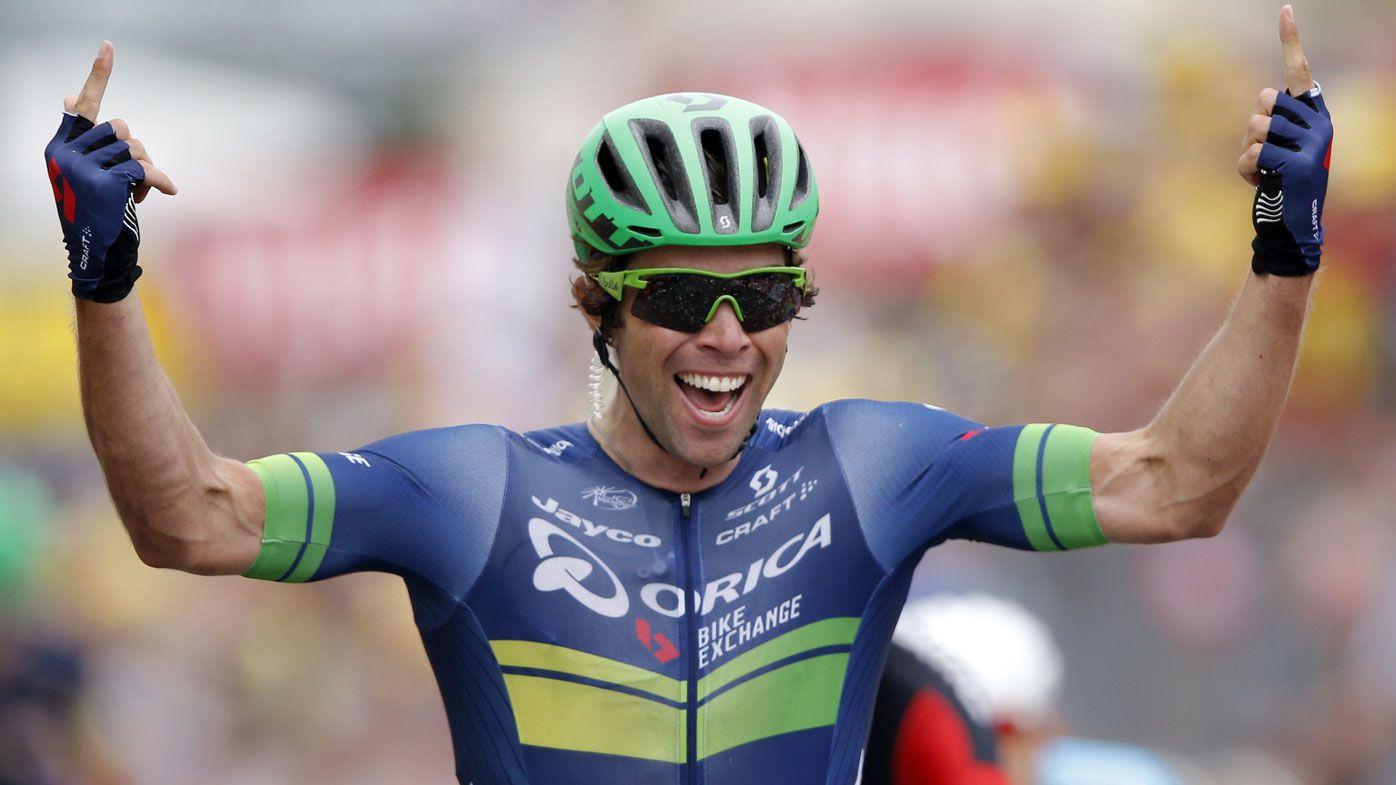Aussie Matthews wins Tour de France stage