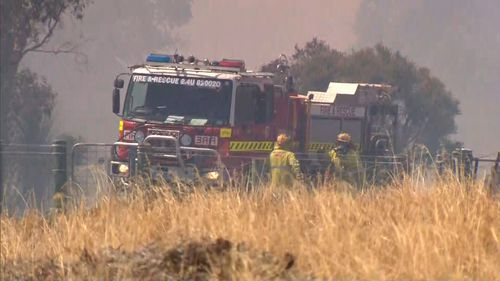 Jandabup Perth bushfire emergency