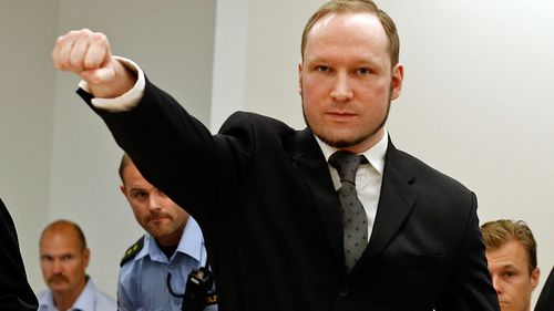 Mass killer and Norwegian right-wing extremist Anders Breivik. (AP).