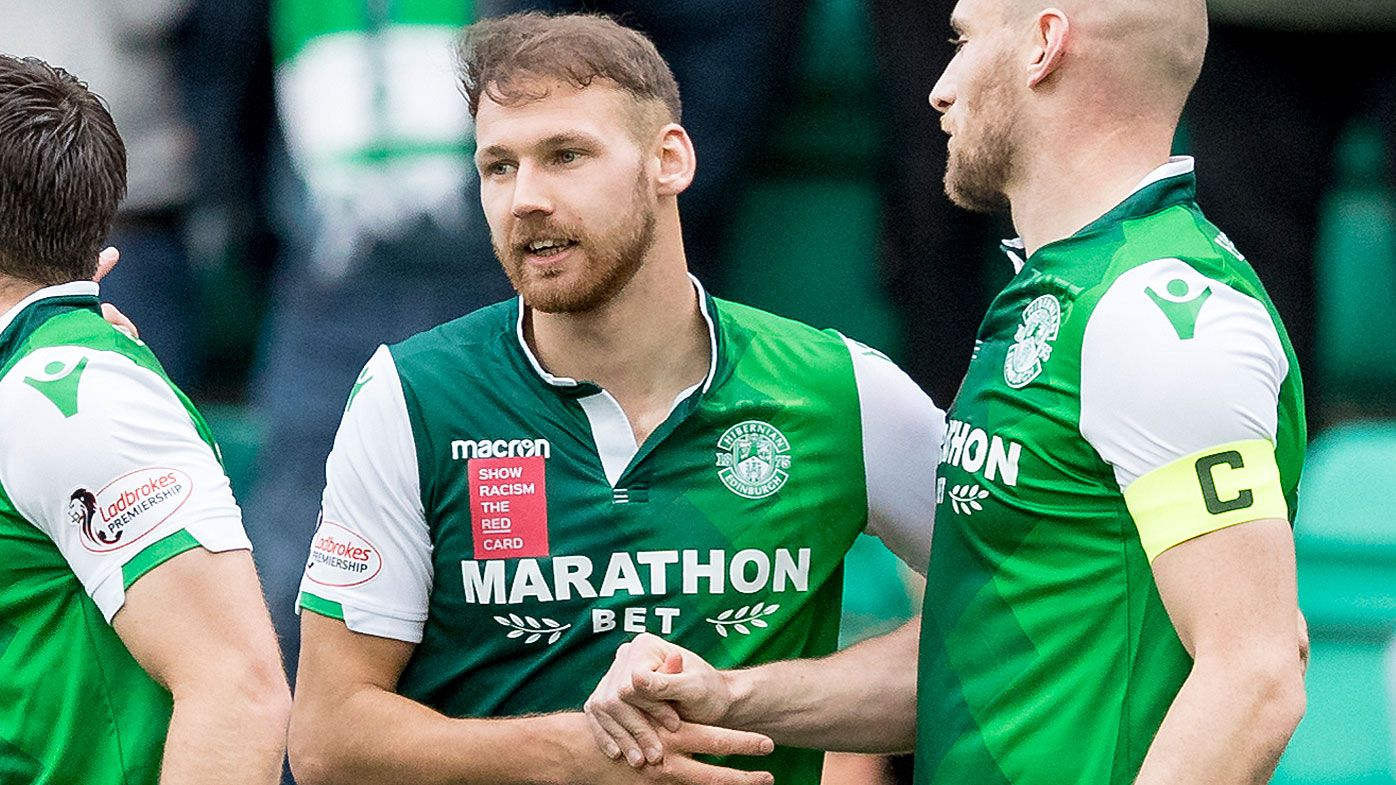Martin Boyle has been in top form for Hibernian