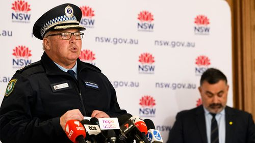NSW Police Deputy Commissioner Gary Worboys said a man from Bondi was arrested for repeated lockdown breaches.