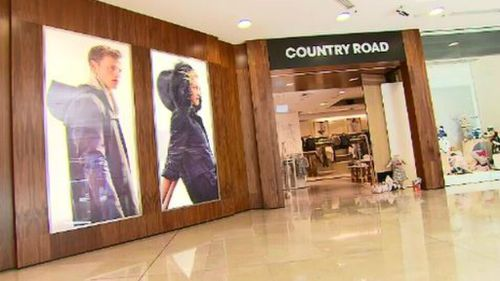 David Jones' new HQ will include Country Road Group's head offices. (9NEWS)