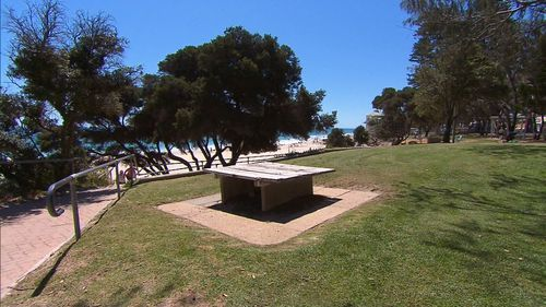 The grandmother was attacked six days ago at Cottesloe beach.